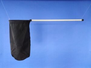 Odchytová síťka Ø 30 cm, rukojeť plastová 80 cm