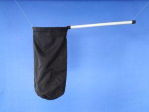 Odchytová síťka Ø 25 cm, rukojeť plastová 50 cm - 1