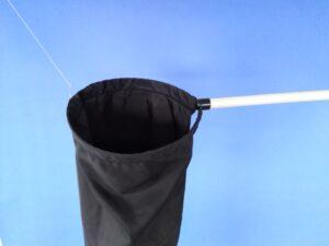 Odchytová síťka Ø 25 cm, rukojeť plastová 50 cm - 2