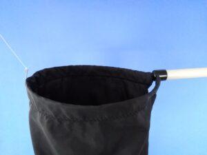 Odchytová síťka Ø 25 cm, rukojeť plastová 50 cm - 3