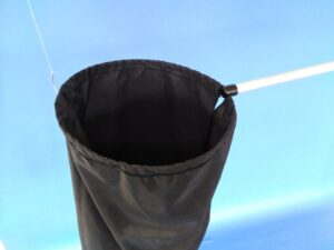 Odchytová síťka Ø 25 cm, rukojeť duralová 120 cm - 3