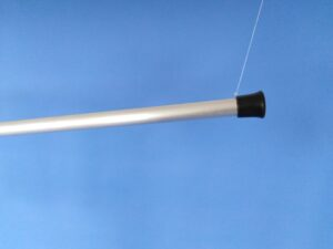 Odchytová síťka Ø 25 cm, rukojeť duralová 120 cm - 4