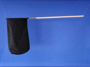 Odchytová síťka Ø 40 cm, rukojeť dřevěná 90 cm
