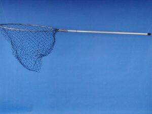 """Podběrák """"Sport"""" pro mořský rybolov Ø 70 cm, oko 27×27 mm polyethylen černá"""