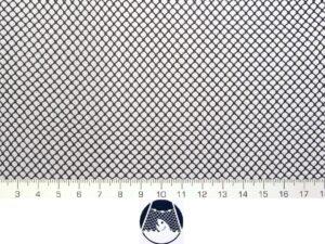 Krycí síť na kolíbku 125×125 cm PAD 4×4/0,6 mm černá – rašl