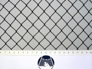 Podložní síť 20×20/1,4 mm PAD černá – rašl