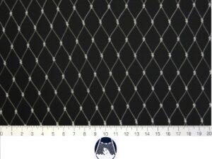 Voliérová síť pro chov kočet PAD 20×20/0,8 mm transparent uzlová