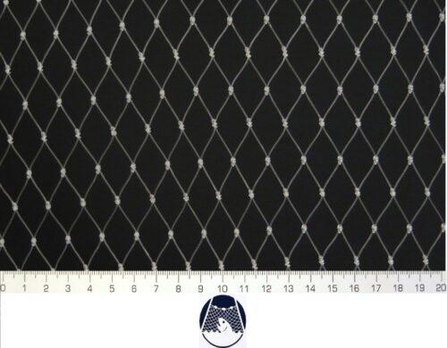 Voliérová síť pro chov kočet PAD 20×20/0,8 mm transparent uzlová - 1