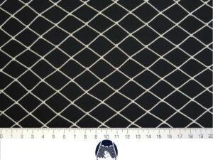 Podložní síť 20×20/1,4 mm PAD bílá – uzel