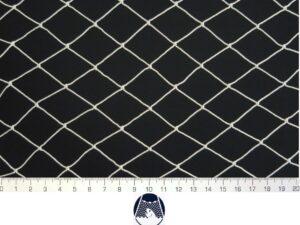 Prubní plot 80 x 7 m/ PAD 30×30/1,4 mm bílá – uzel