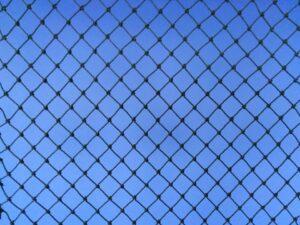 Voliérová síť pro chov drobných ptáků PET 15/1,1 mm tmavě zelená