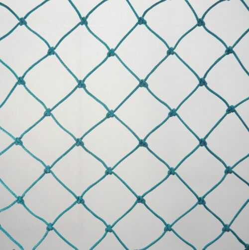 Ochranná síť N 3,2 x 6,2 m, PET 45/2,5 mm zelená uzlová obšitá - 1