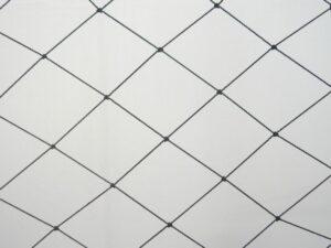 Krycí síť proti rackům, kachnám PET 55/1,4 mm černá