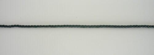 Provázek polyethylen (PET) Ø 2,0 mm/ 1m skaná, tmavě zelená - 1