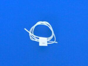 Provázek polyethylen (PET) Ø 2,5 mm/ 1m pletená, bílá