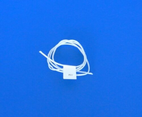 Provázek polyethylen (PET) Ø 2,5 mm/ 1m pletená, bílá - 1