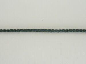 Provázek polyethylen (PET) Ø 3,0 mm/ 1m skaná, tmavě zelená