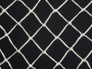 Síťovina uzlová strojní polypropylen (PPV) 50×50/3,0 mm bílá