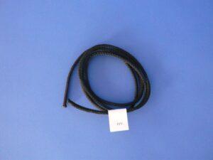 Provázek polypropylen (PPV) Ø 4,0 mm/ 1m černá
