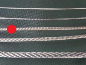 Ocelové lano Ø 4 mm zinkované