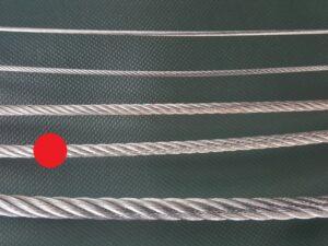 Ocelové lano Ø 6 mm zinkované