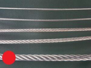 Ocelové lano Ø 8 mm zinkované