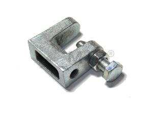 Třmen/závěs na traverzu (nosník) M80-18 mm