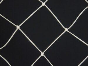 Ochranná síť N 6,5 x 20 m, PPV 120/3,0 mm bílá uzlová obšitá